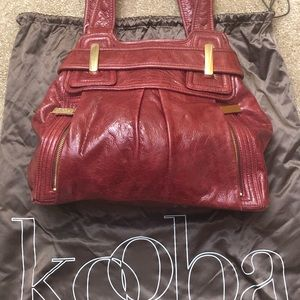 Red Kooba purse. In great shape. Non smoking home.